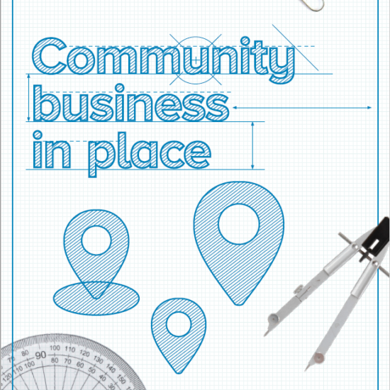 Community Business in Place - report cover