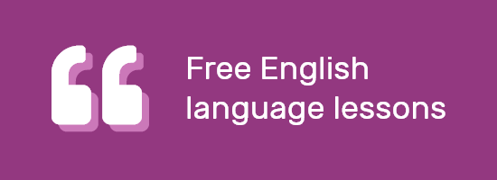 Free English language lessons