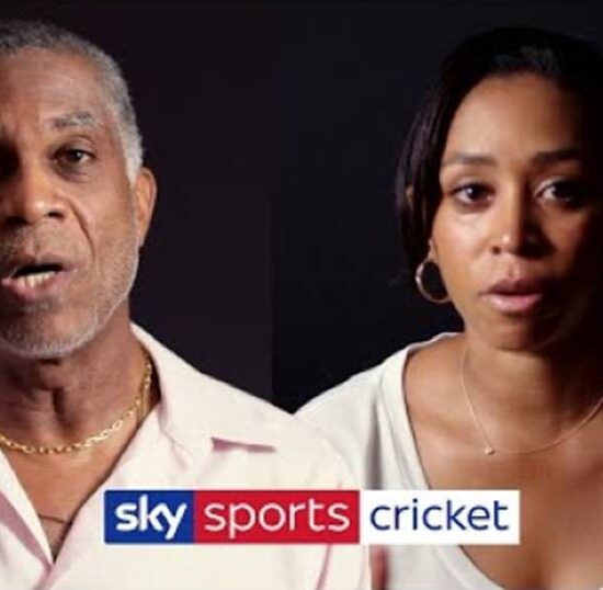 Michael Holding and Emily Rainford Brent
