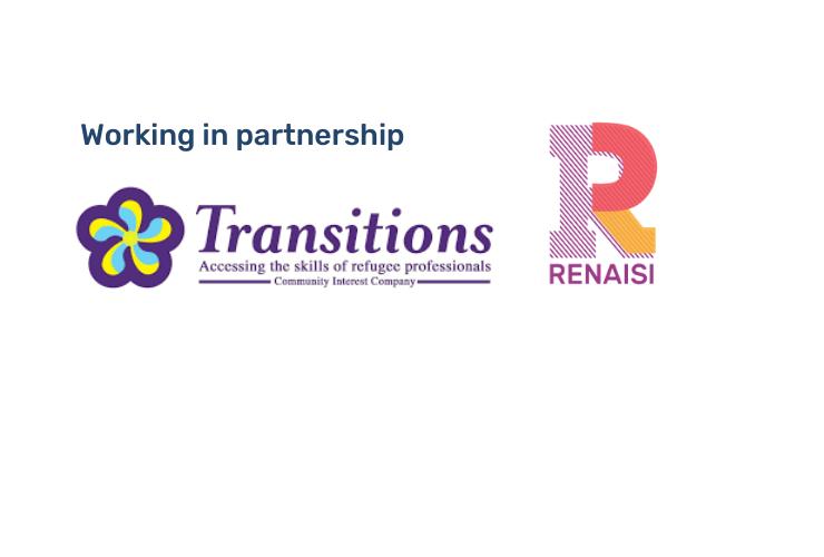 Transitions and Renaisi logos