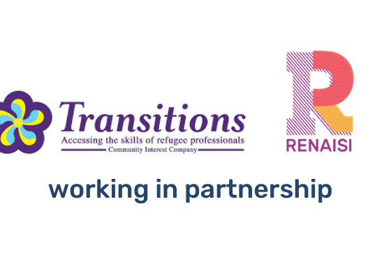 Transitions and Renaisi logos