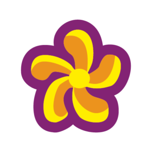 Transitions flower icon