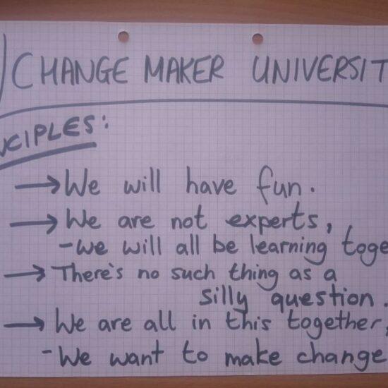Change Maker University Principles