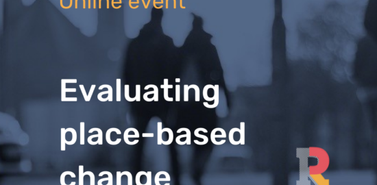 Evaluating place-based change