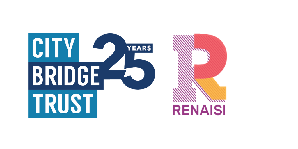 City Bridge Trust and Renaisi logos
